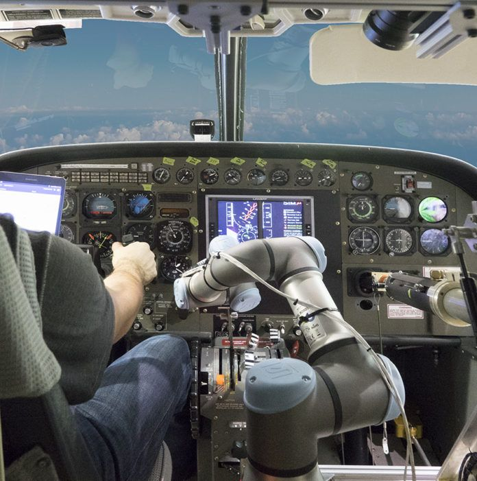 On October 17, Aurora Flight Sciences demonstrated automated flight capabilities as part of the Aircrew Labor In-Cockpit Automation System (ALIAS) program. The ALIAS robotic system flew a Cessna Caravan through … Continue Reading