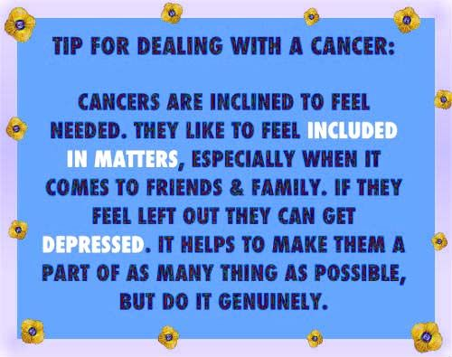 Cancer Zodiac Quotes Images: Cancer Zodiac Sign ♋.