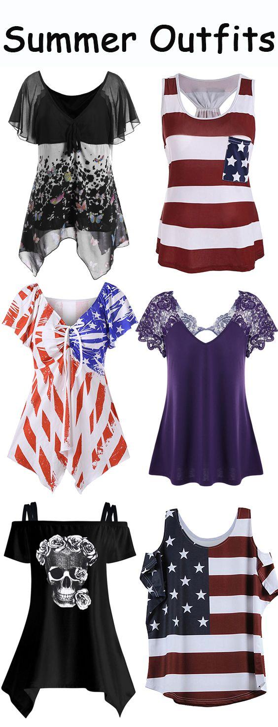 cold shoulder t shirt,tank top,lace top,American Flag T-Shirt,black t shirt
