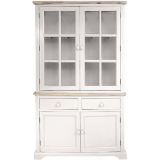 Buy fairview 4 door 2 drawer display cabinet white at for Argos kitchen cabinets