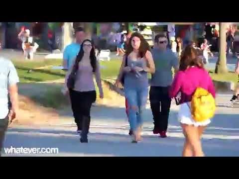 Boobs Prank Video