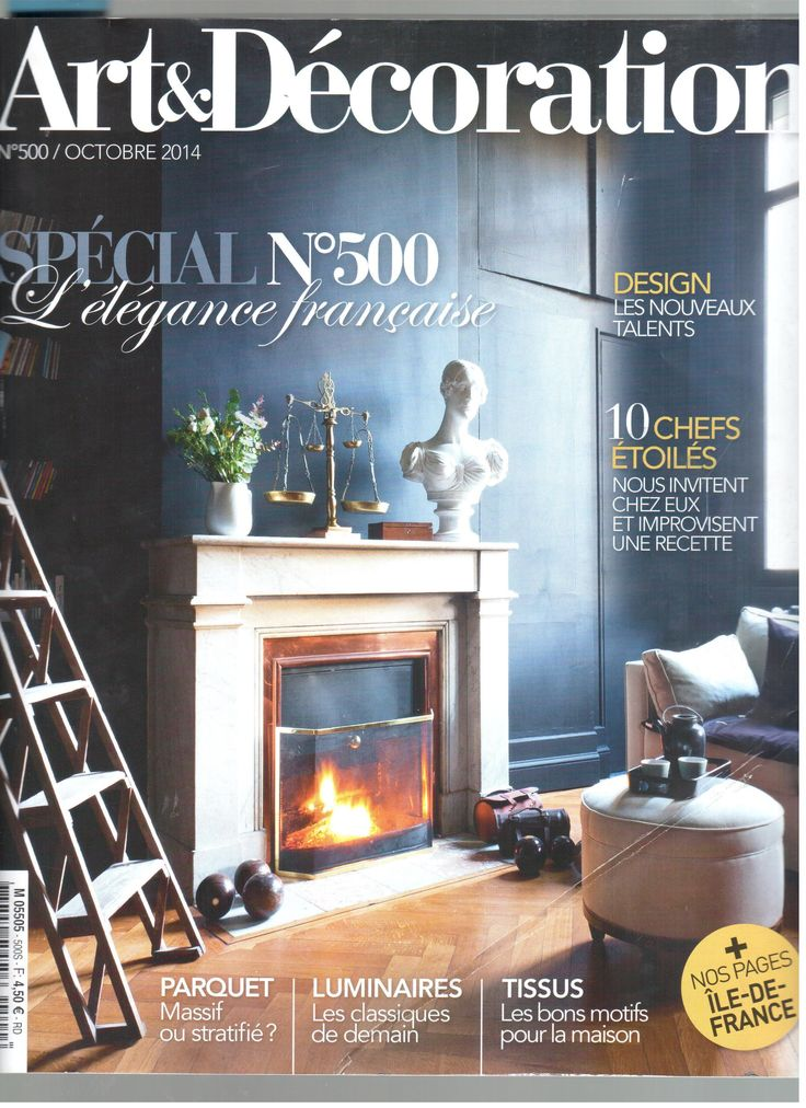 Décoplus in the latest issue of Art&Décoration #Press #Home #interior #decoration