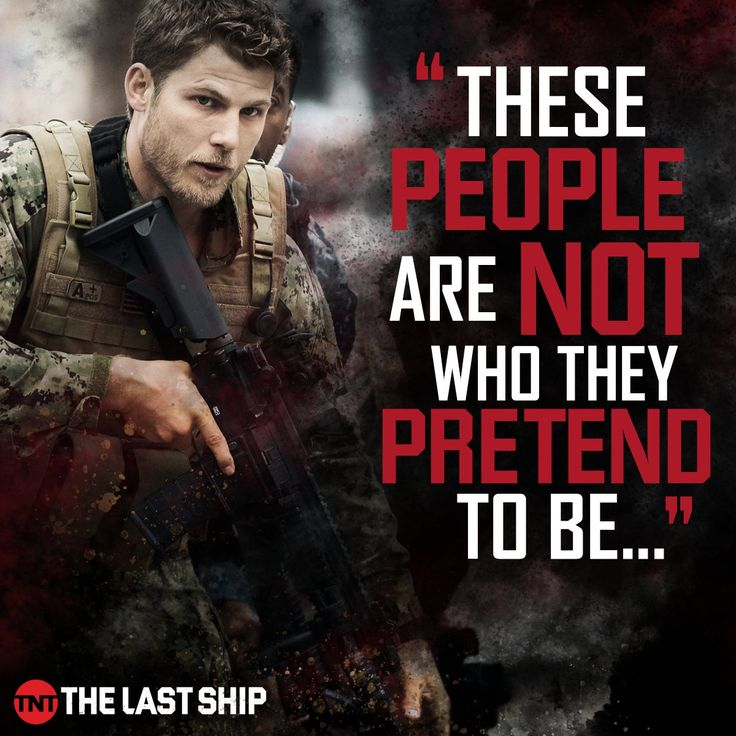 Well said, Danny. | The Last Ship