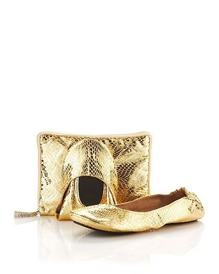 Mes Ballerinettes®SNAKE GOLD limited edition