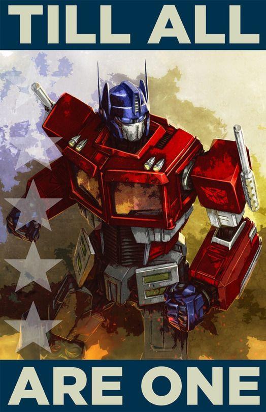 Geek Art Gallery: Posters: Transformers Propaganda