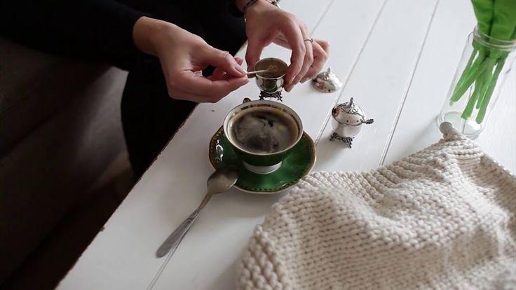 #owoceszycia Na drutach #1 Dywanik z bawełnianego sznurka | Cotton string rug knitting