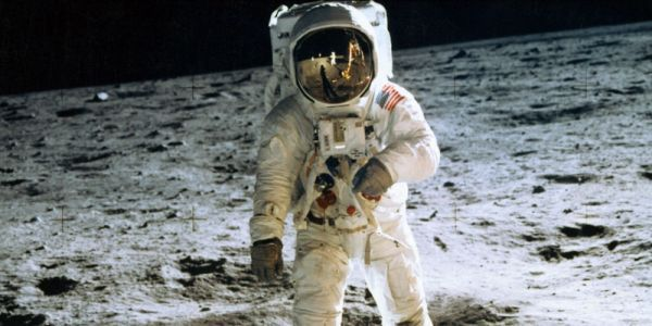 Little-known event occurred at 1st moon landing