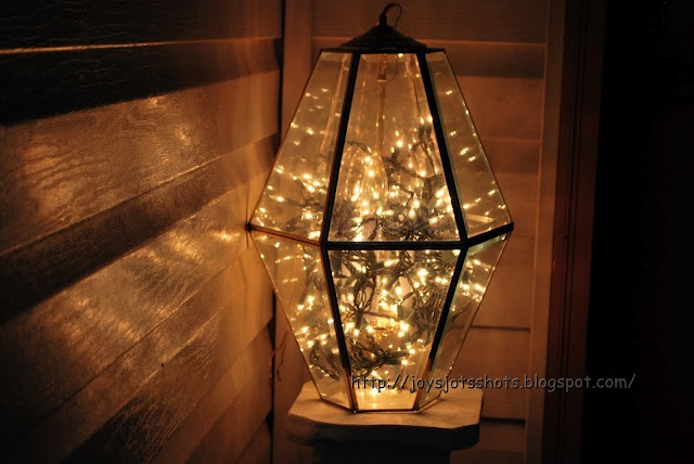 128 best upcycling old things images on pinterest coir for Creative ways to hang christmas lights indoors