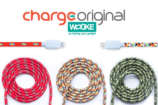 ChargeOriginal is a durable USB cable specially designed: Apple and Android devices 1.5m or 3m long.