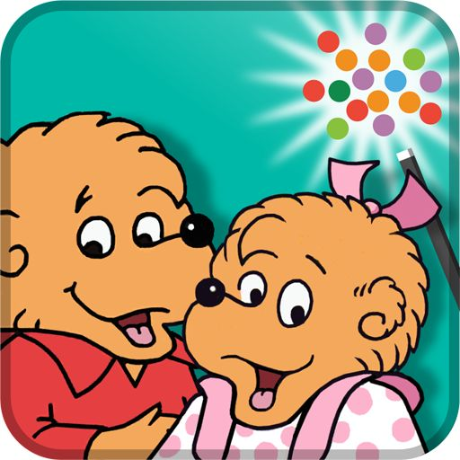Berenstain Bears Get In A Fight App - Classroom activity guide also available with this app!