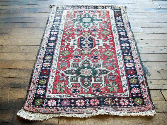 small persian boho rug persian welcome rug persian welcome mat vintage colorful rug small bohemian persian