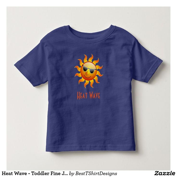 Heat Wave - Toddler Fine Jersey T-Shirt