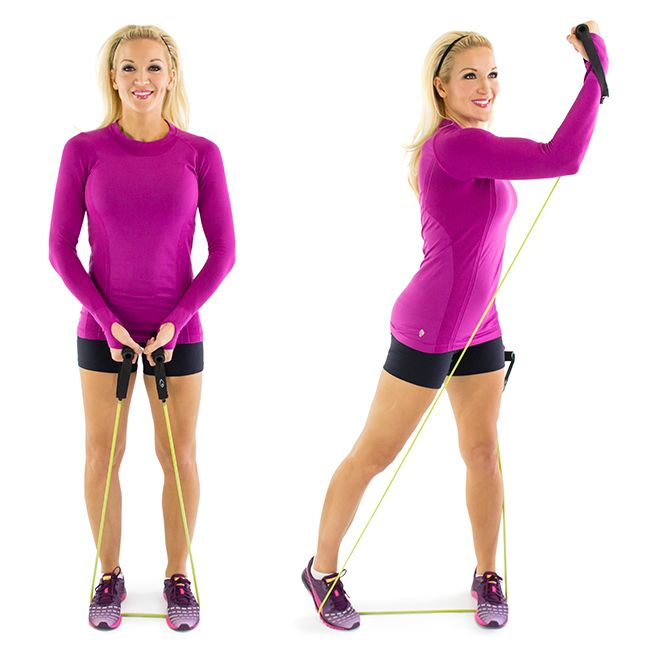 Cross+Body+Punches+with+Resistance+Band
