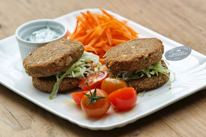 Lentil Burgers by California Bakery