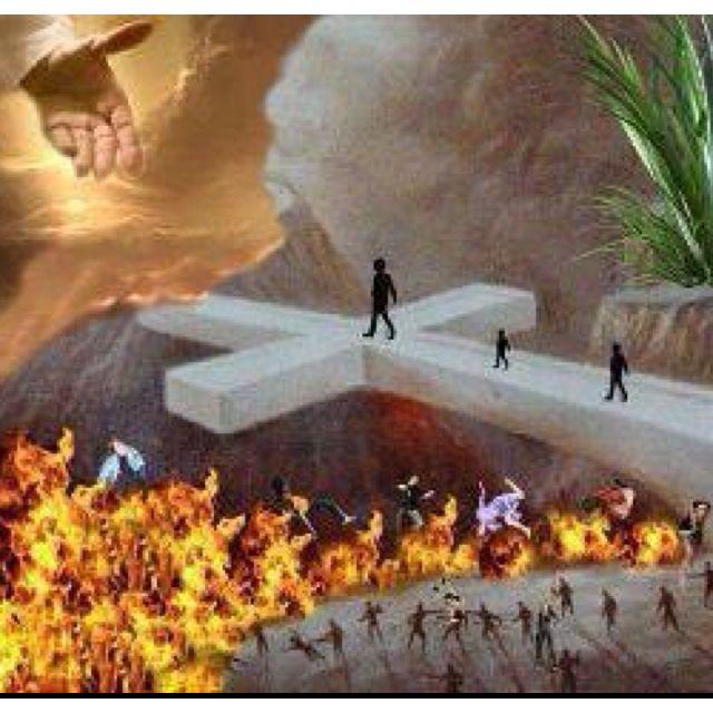 """Jesus Christ is the Messiah, the bridge to everlasting life!"""