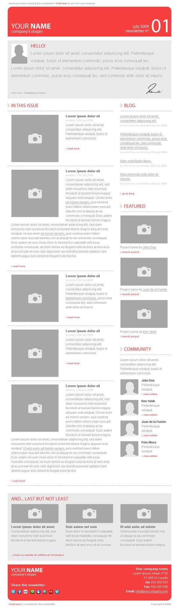 Inspiration & Ressources : 15 Newsletters originales - inspiration-ressources