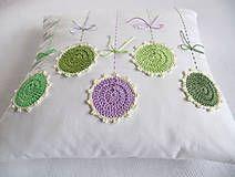 Úžitkový textil - alchýmia Viola odorata... - 6395361_