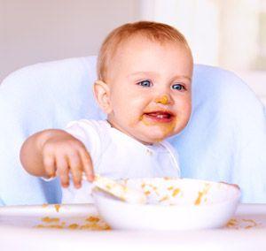Zoete Aardappel, Pompoen en Wortel Babymaaltijd.   Veel vitamines en een lekkere natuurlijke zoete smaak. Daar gaan de mondjes met veel plezier voor open!  Vanaf 6 maanden.