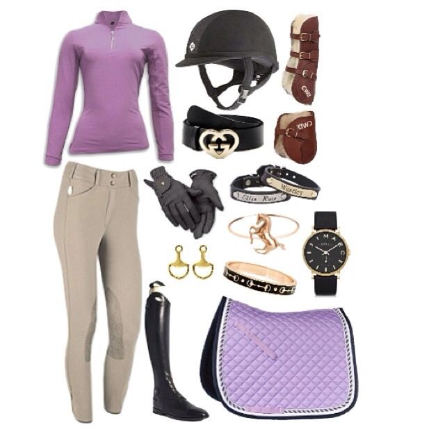 Simple Equestrian Outfit