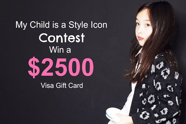 33rdrepublic: My Child Is a Style Icon $2500 Visa Gift Card Giveaway