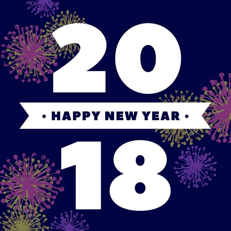 Happy New year 2018 Images, Status, DP, Wallpaper, Wishes