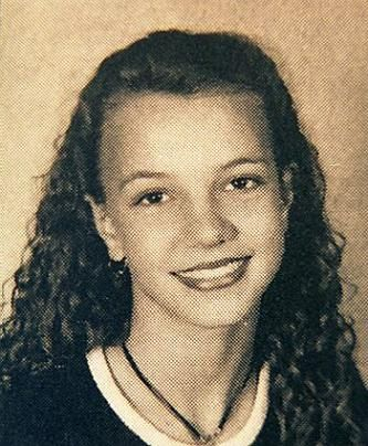 Britney Spears High School Picture