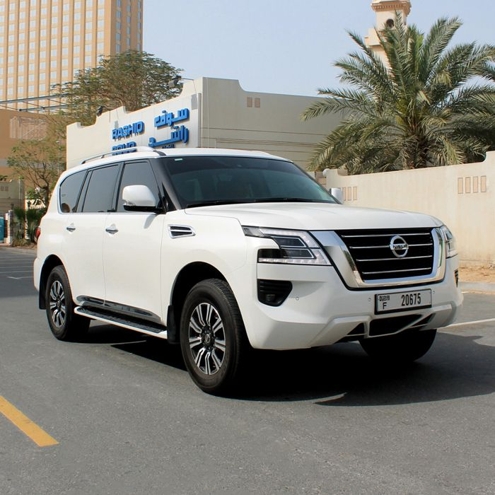 Drive The Nissan Patrol Platinum In Dubai For Only Aed 850 Day Aed 13500 Month This Suv Fits 7 Passengers And 5 Medium Sized Bags In 2020 Nissan Patrol Dubai Suv