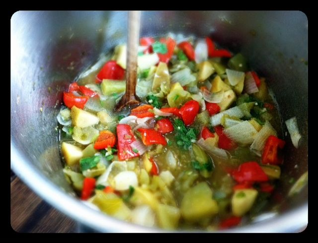 Recipe: No Sugar Green Tomato Relish (Can or Freeze) - 100 Days of Real Food