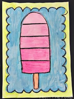 Frog Spot: Popsicle Art - Tints and Shades
