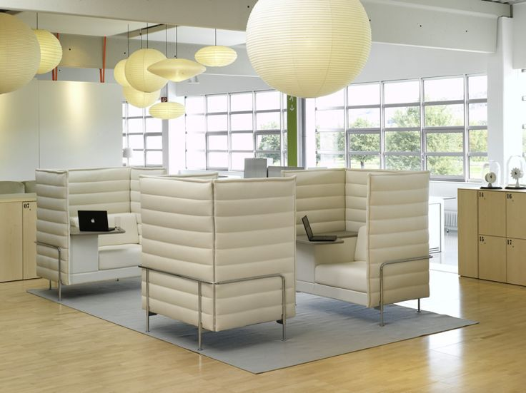 Alcove Highback Sofa By Vitra. Great Acoustics And Visual Screening. I Love  The Integrated