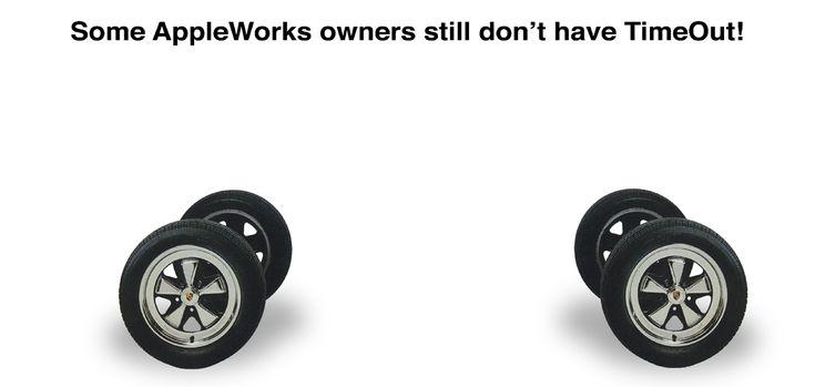 AppleWorks Beagle Porsche Wheels