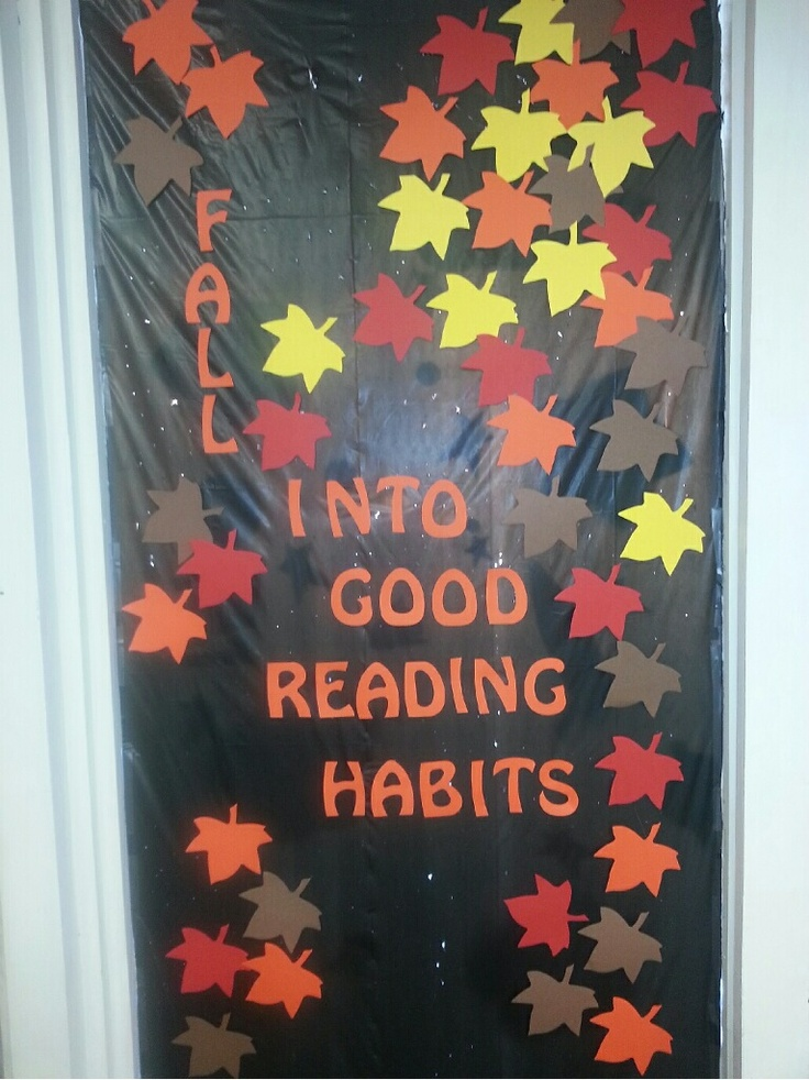 Mount Hope Public Library Fall Into Good Reading Habits