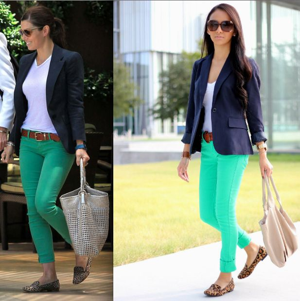 17 Best images about NAVY BLUE AND GREEN OUTFITS on Pinterest ...