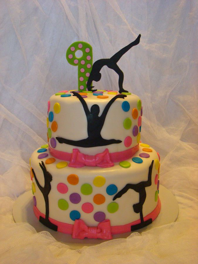 Gymnastics Birthday Cakes Recipes Youll Love On Pinterest - 11th birthday cake ideas