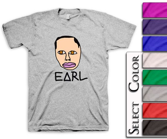 9983907ae192 EARL T-Shirt - tyler the creator tee ofwgkta golf wang tshirt odd future of