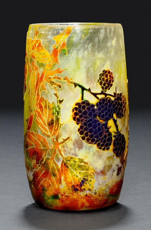 DAUM NANCY  VASE, ca. 1900