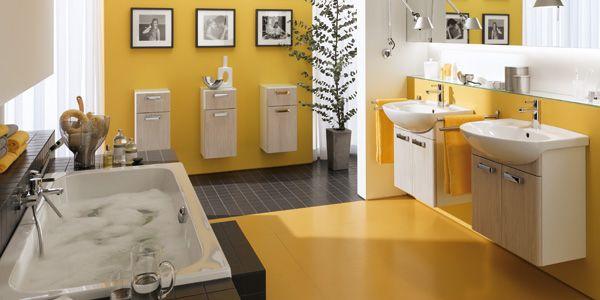Keramag renova Nr.1  Eine weitere Variante mit viel Platz für das tägliche Allerlei bieten die Möbelwaschtische. 600, 650 oder 800 mm breit und mit jeweils passendem, geräumigem Waschtischunter-  schrank kombinierbar. Grenzenlose Gestaltungsvielfalt in einem höchst attraktiven Preisbereich.