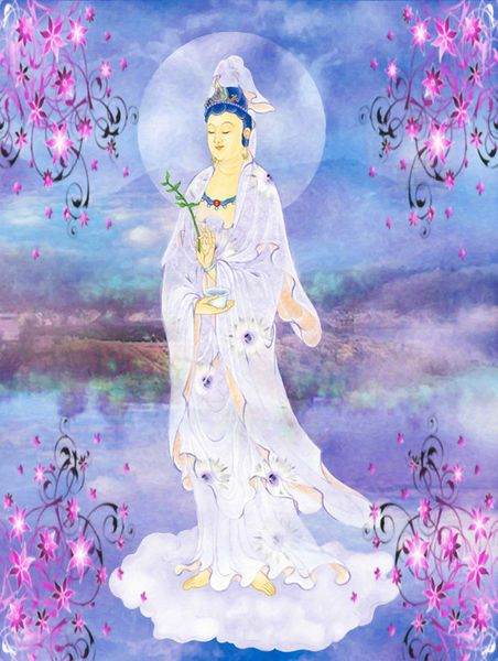 'Doro Guanyin' by lanjee chee on artflakes.com as poster or art print $19.61