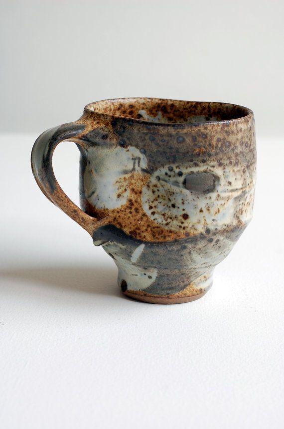 indented yellow mug by ralphnuara on Etsy, $36.00