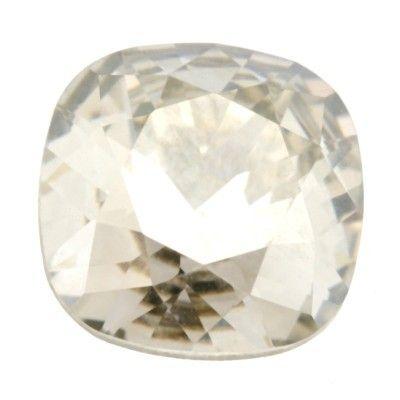 Swarovski Steen Vierkant (4470) crystal silver shade