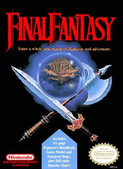 Of course I can't forget the original Final Fantasy for NES - a classic.