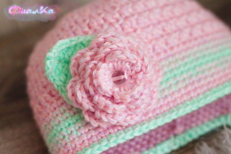 Шапка детская, шапка вязанная, knitting