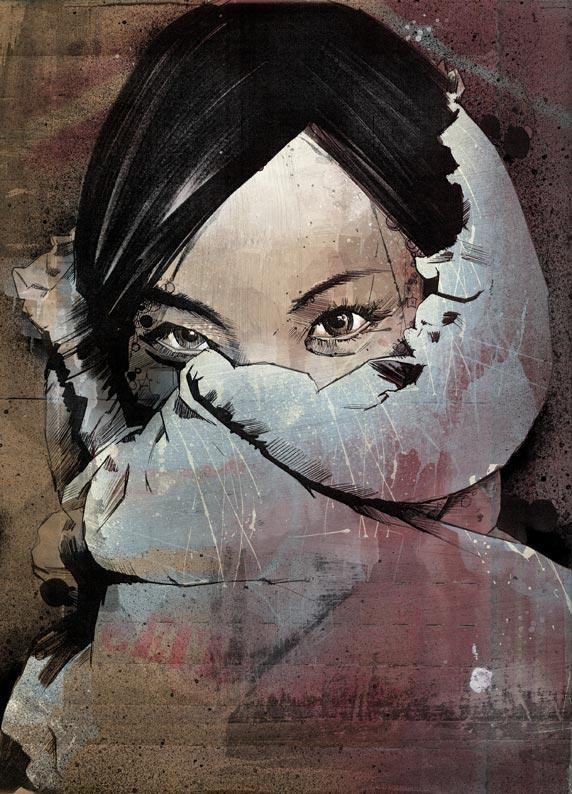 Illustrations by Russ Mills | Digital Art