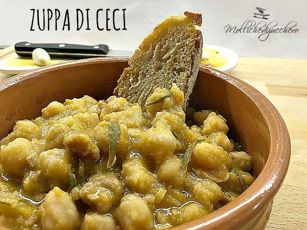 Zuppa di ceci ricetta rustica