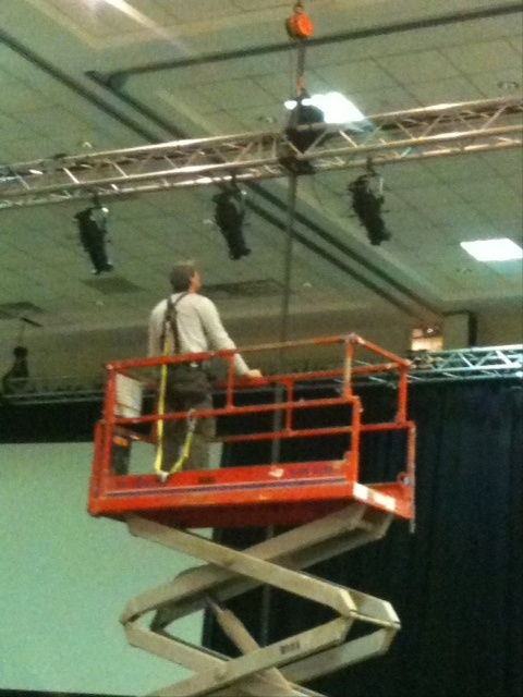 Stage four: Lighting