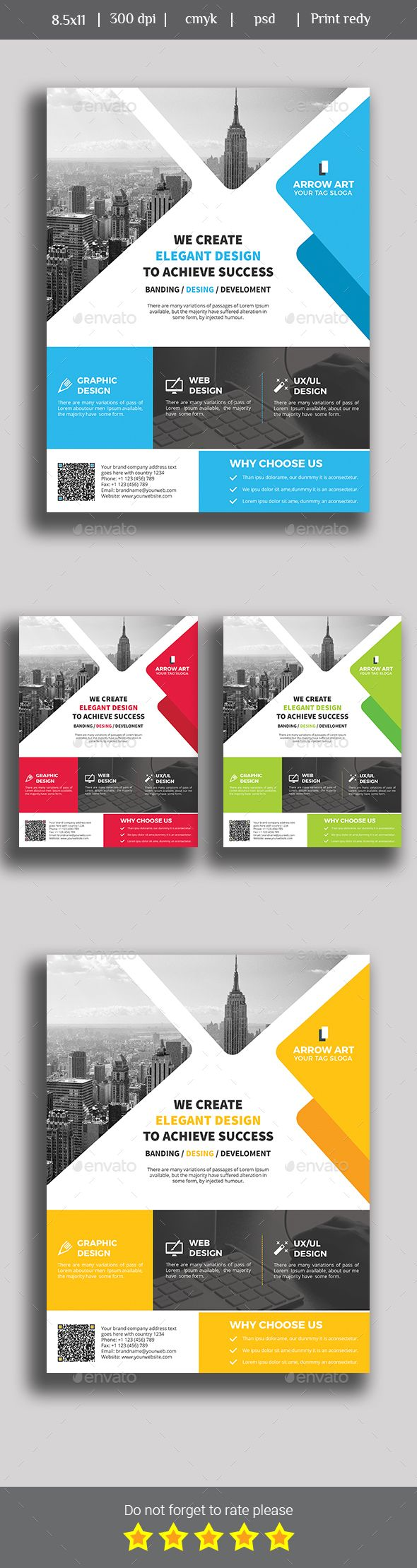 Poster design business - Corporate Business Flyer