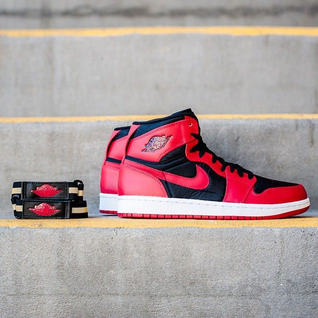 """Strapped or unstrapped?  Check out the new Air Jordan 1 High Strap in the Air Jordan category on sneakernews.com"""