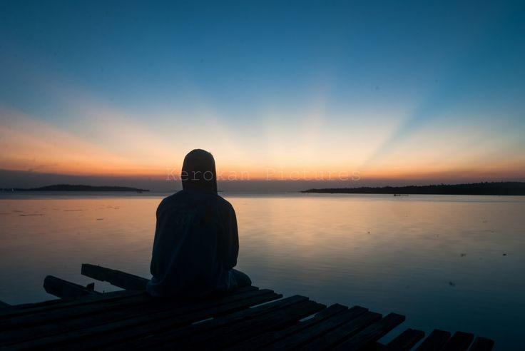Beautiful Sunset in Bintan Island - Sunset Silhouette Photography