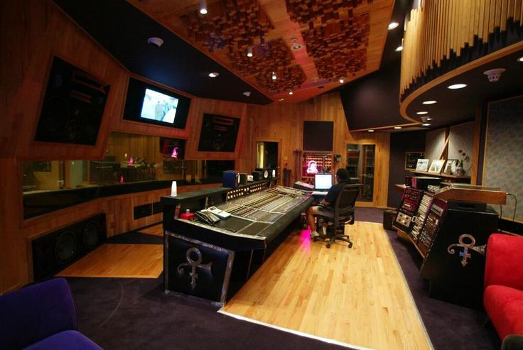 A peek inside one of the studios at Paisley Park
