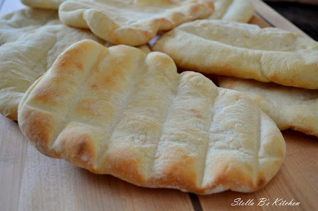 ~Stella B's Kitchen: Homemade Pita Bread